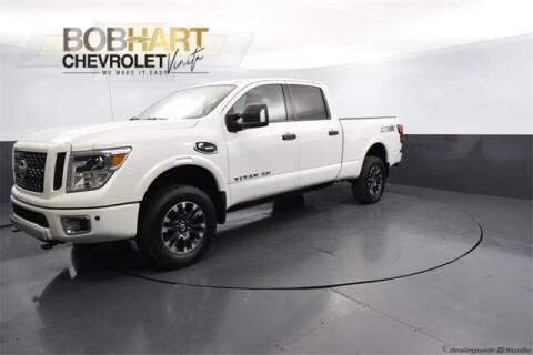 2018 Nissan Titan XD for sale at BOB HART CHEVROLET in Vinita OK