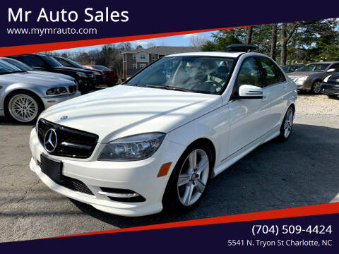 2011 Mercedes-Benz C-Class for sale at Mr Auto Sales in Charlotte NC