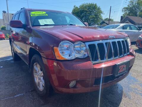 2008 Jeep Grand Cherokee for sale at Zs Auto Sales in Kenosha WI