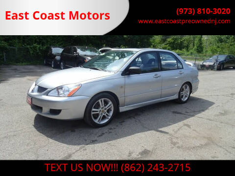 2004 Mitsubishi Lancer for sale at East Coast Motors in Lake Hopatcong NJ