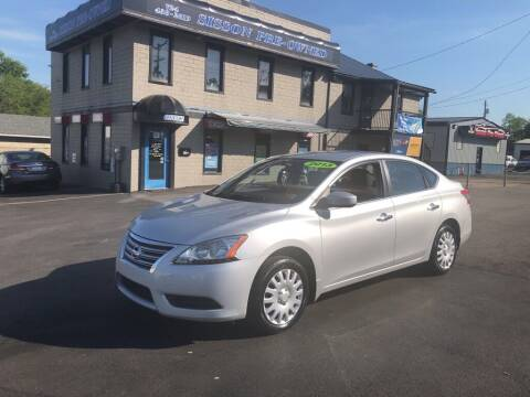 2013 Nissan Sentra for sale at Sisson Pre-Owned in Uniontown PA