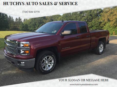 2014 Chevrolet Silverado 1500 for sale at Hutchys Auto Sales & Service in Loyalhanna PA