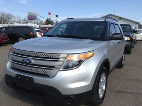 2014 Ford Explorer for sale at Steves Auto Sales in Cambridge MN
