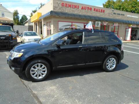 2009 Ford Edge for sale at Gemini Auto Sales in Providence RI