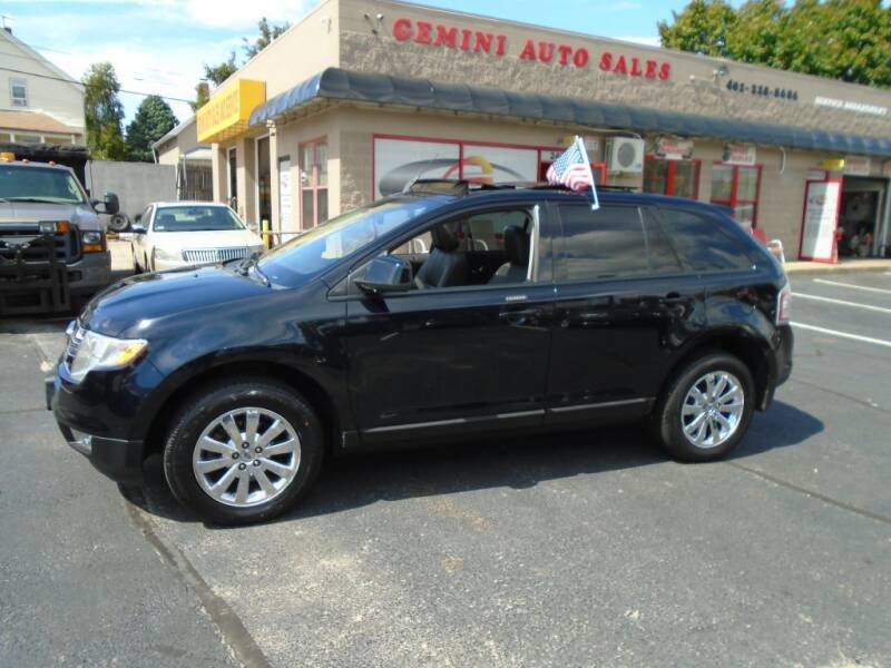 2009 Ford Edge for sale at Gemini Auto Sales in Providence RI