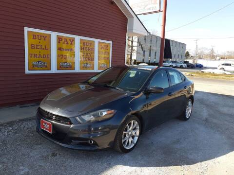 2013 Dodge Dart for sale at Mack's Autoworld in Toledo OH