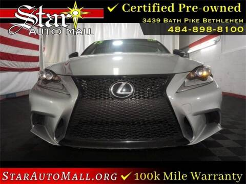 2015 Lexus IS 250 for sale at STAR AUTO MALL 512 in Bethlehem PA