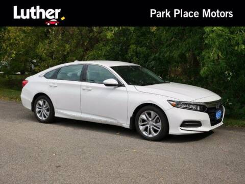 2019 Honda Accord for sale at Park Place Motor Cars in Rochester MN
