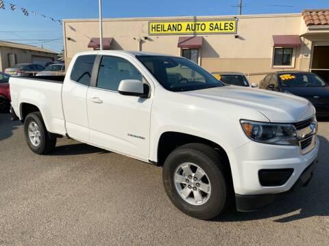 2016 Chevrolet Colorado for sale at HEILAND AUTO SALES in Oceano CA