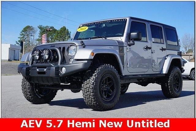 2018 Jeep Wrangler JK Unlimited for sale at WHITE MOTORS INC in Roanoke Rapids NC