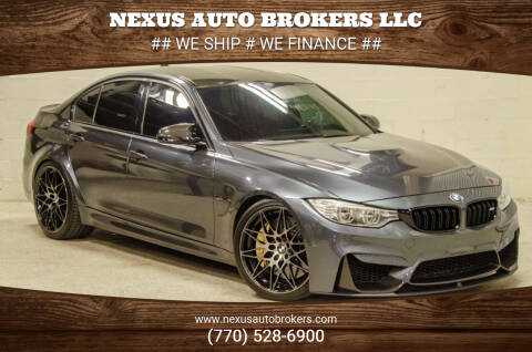 2017 BMW M3 for sale at Nexus Auto Brokers LLC in Marietta GA