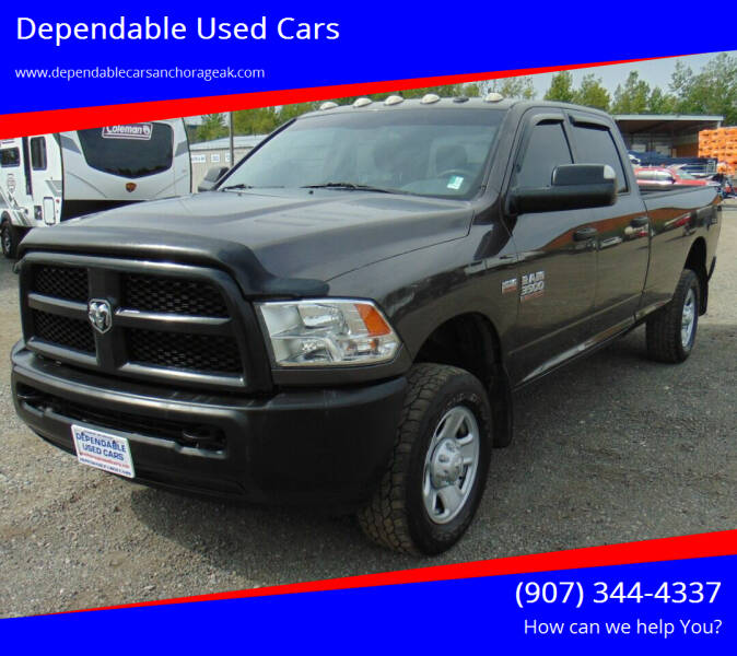 2017 RAM Ram Pickup 3500 for sale at Dependable Used Cars in Anchorage AK