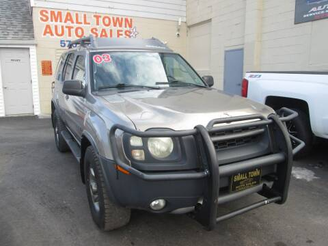 2003 Nissan Xterra for sale at Small Town Auto Sales in Hazleton PA