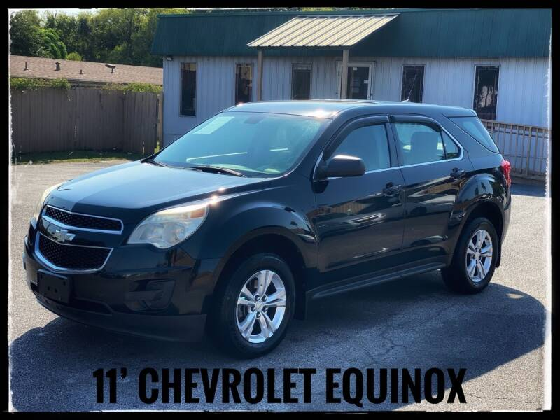 2011 Chevrolet Equinox for sale at ASTRO MOTORS in Houston TX