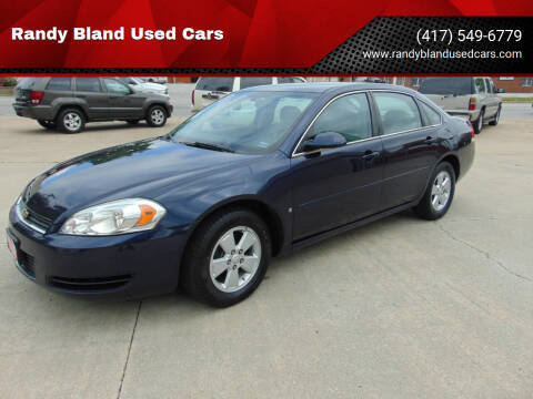 2007 Chevrolet Impala for sale at Randy Bland Used Cars in Nevada MO
