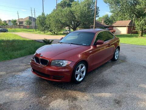 2011 BMW 1 Series for sale at CARWIN MOTORS in Katy TX