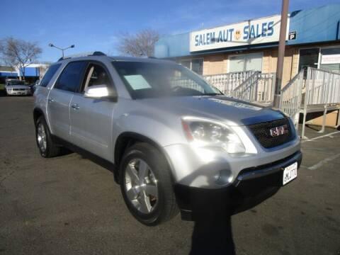 2011 GMC Acadia for sale at Salem Auto Sales in Sacramento CA