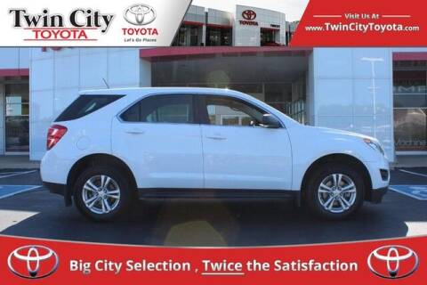 2017 Chevrolet Equinox for sale at Twin City Toyota in Herculaneum MO