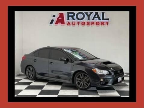 2017 Subaru WRX for sale at Royal AutoSport in Sacramento CA
