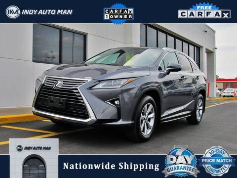 2018 Lexus RX 350 for sale at INDY AUTO MAN in Indianapolis IN
