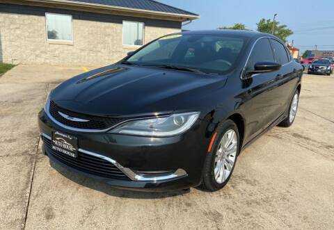 2016 Chrysler 200 for sale at Auto House of Bloomington in Bloomington IL