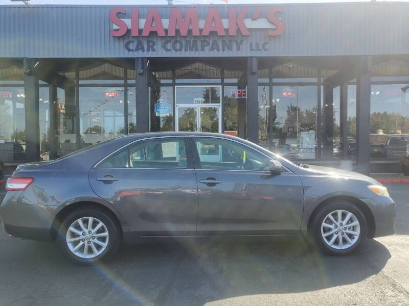 2011 Toyota Camry for sale at Siamak's Car Company llc in Salem OR