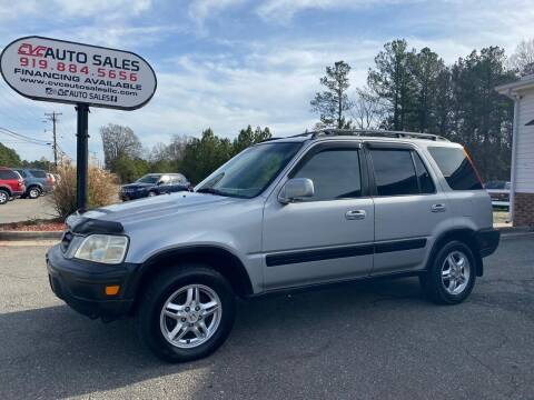 2000 Honda CR-V for sale at CVC AUTO SALES in Durham NC
