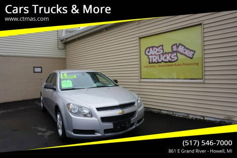 2012 Chevrolet Malibu for sale at Cars Trucks & More in Howell MI