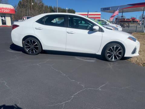 2017 Toyota Corolla for sale at Doug White's Auto Wholesale Mart in Newton NC