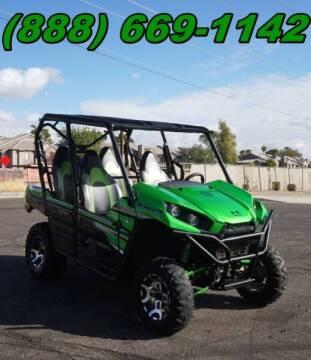 2018 Kawasaki Teryx4 LE KRT800 for sale at Motomaxcycles.com in Mesa AZ