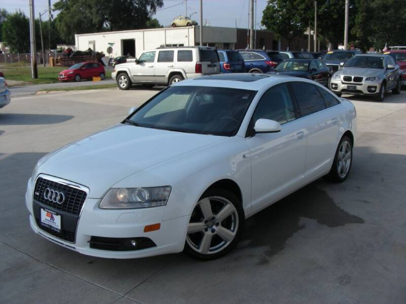 2008 Audi A6 for sale at EURO MOTORS AUTO DEALER INC in Champaign IL