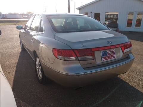 2007 Hyundai Azera for sale at L & J Motors in Mandan ND