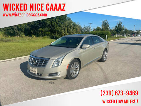 2013 Cadillac XTS for sale at WICKED NICE CAAAZ in Cape Coral FL