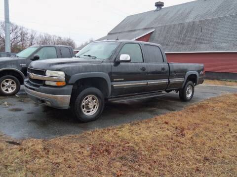 2002 Chevrolet Silverado 2500HD for sale at Red Barn Motors, Inc. in Ludlow MA