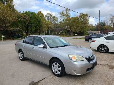 2006 Chevrolet Malibu for sale at G&J Car Sales in Houston TX