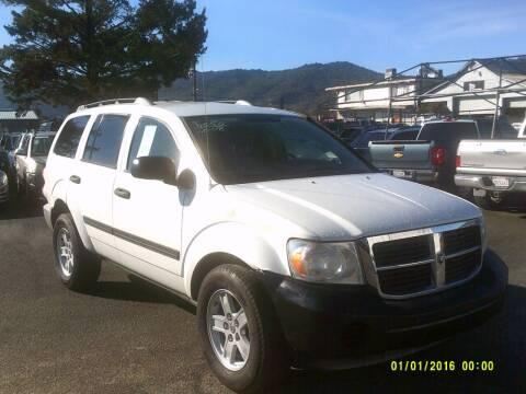 2008 Dodge Durango for sale at Mendocino Auto Auction in Ukiah CA