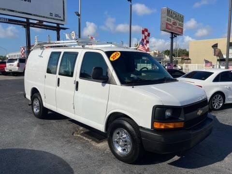 2013 Chevrolet Express Cargo for sale at MACHADO AUTO SALES in Miami FL