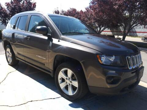 2014 Jeep Compass for sale at AUTOMOTIVE SOLUTIONS in Salt Lake City UT
