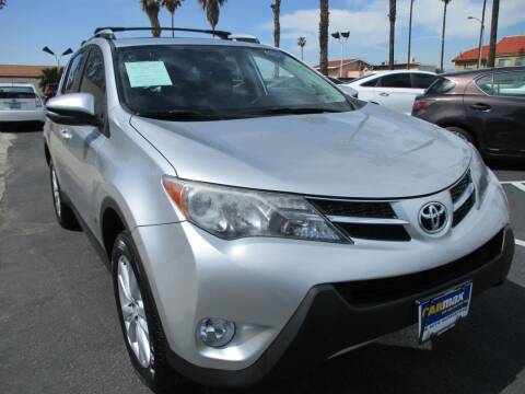 2014 Toyota RAV4 for sale at F & A Car Sales Inc in Ontario CA