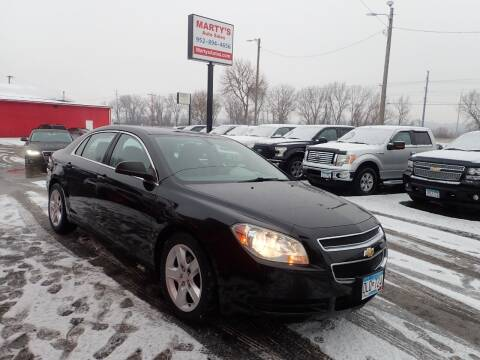 2012 Chevrolet Malibu for sale at Marty's Auto Sales in Savage MN