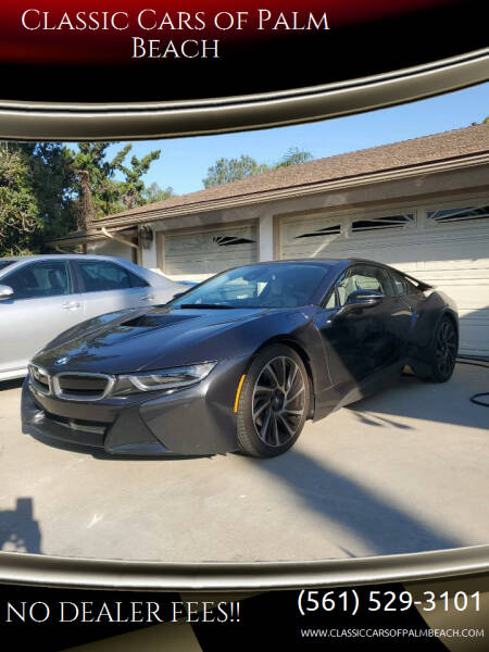 2016 BMW i8 for sale at Classic Cars of Palm Beach in Jupiter FL