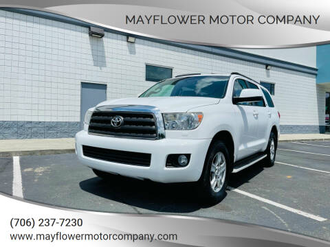 2010 Toyota Sequoia for sale at Mayflower Motor Company in Rome GA