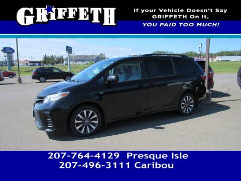2018 Toyota Sienna for sale at Griffeth Mitsubishi - Pre-owned in Caribou ME