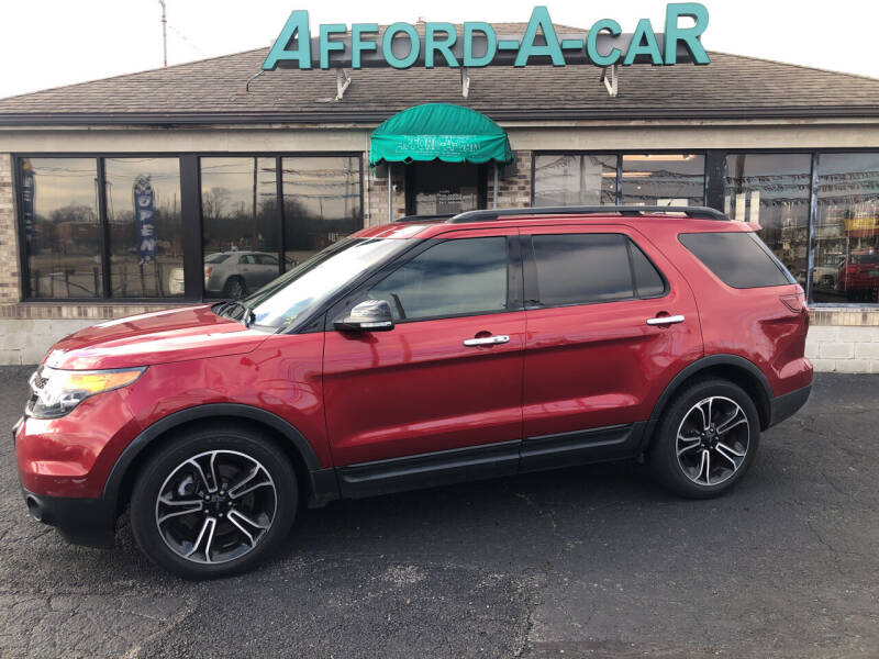 2013 Ford Explorer for sale at Afford-A-Car in Moraine OH