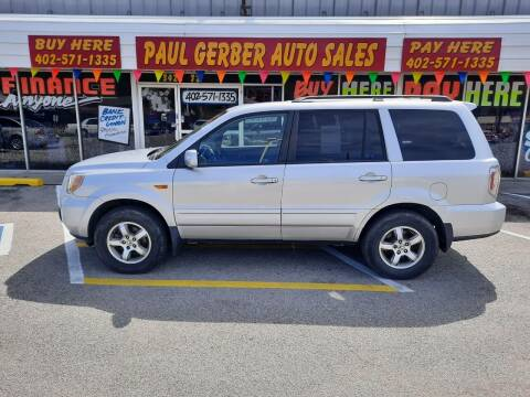 2006 Honda Pilot for sale at Paul Gerber Auto Sales in Omaha NE