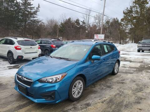 2017 Subaru Impreza for sale at B & B GARAGE LLC in Catskill NY