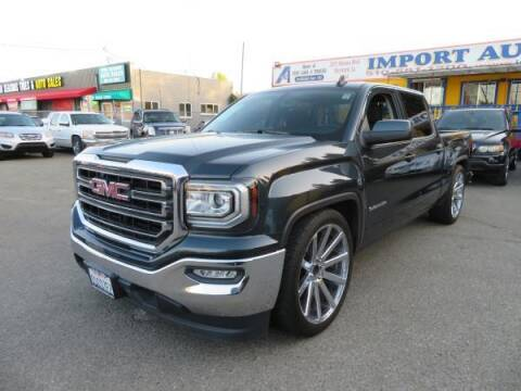 2017 GMC Sierra 1500 for sale at Import Auto World in Hayward CA