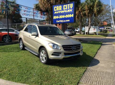 2012 Mercedes-Benz M-Class for sale at Car City Autoplex in Metairie LA