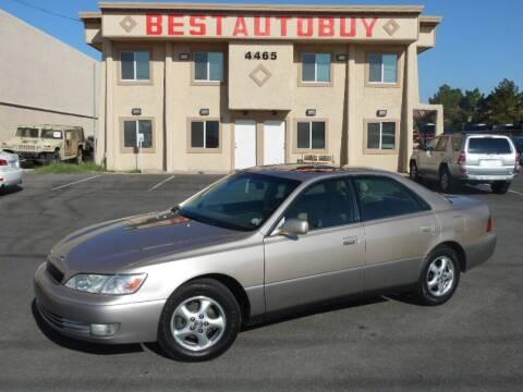 1999 Lexus ES 300 for sale at Best Auto Buy in Las Vegas NV