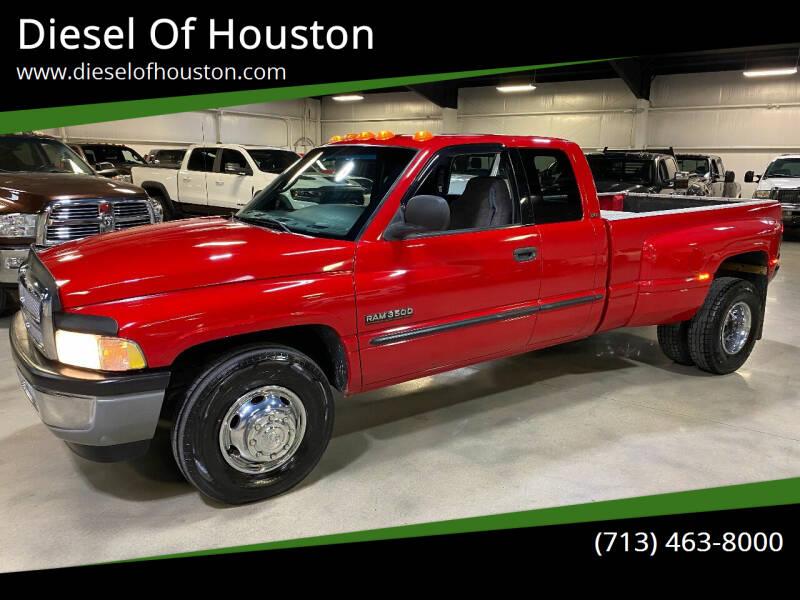 2001 Dodge Ram Pickup 3500 for sale at Diesel Of Houston in Houston TX